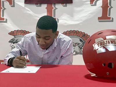 A.J. Walker signing