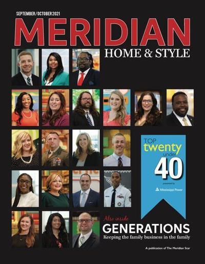 Top twenty under 40 honored in Meridian Home & Style magazine