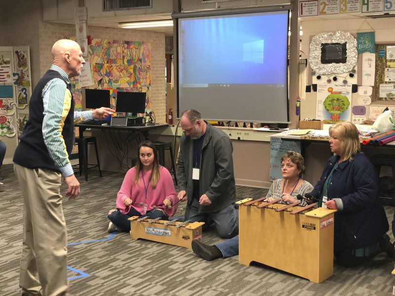 Educators spend Saturday at Meridian school to learn about arts integration