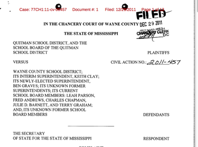Court rules in favor of Quitman School District in 16th ...