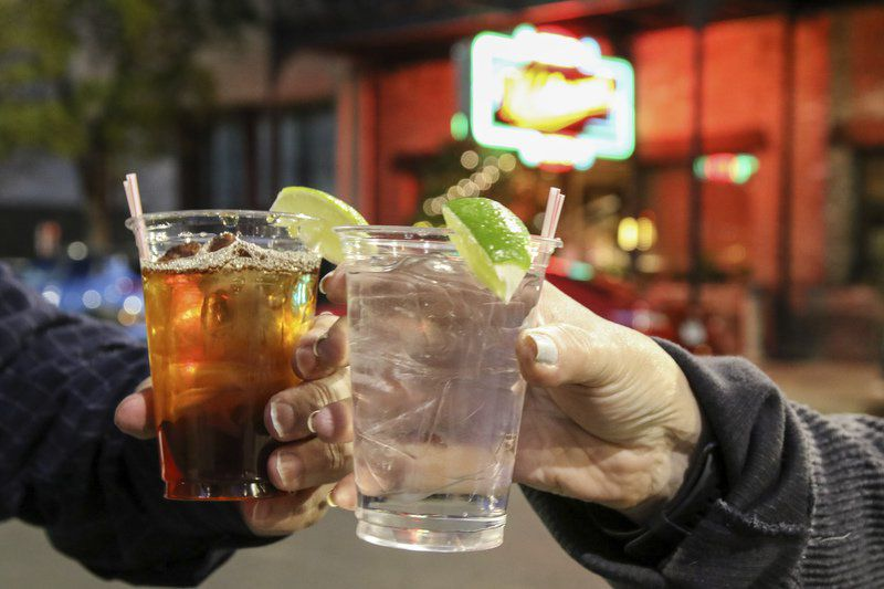 Meridian's drinks to go law seen as business booster