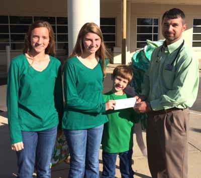 Student donates funds to cancer patients