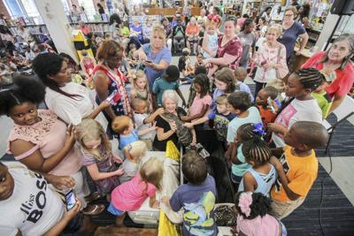 Reptile show at The Meridian-Lauderdale County Public Library