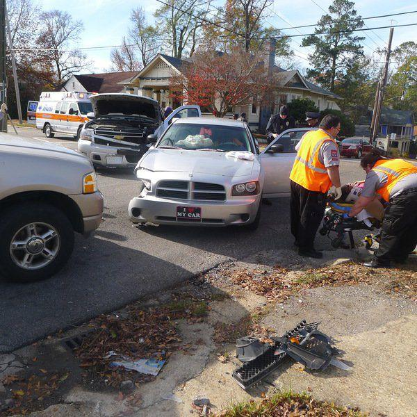 3-car Accident Hospitalizes One