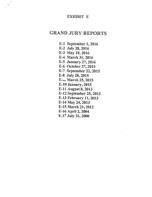 Lauderdale County Grand Jury Reports