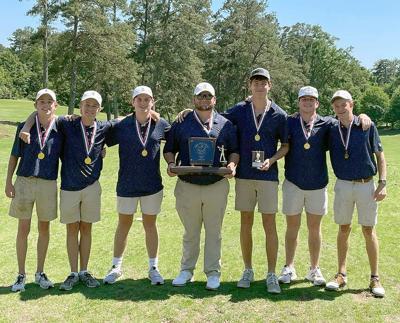 Lamar golf 2021 state champions