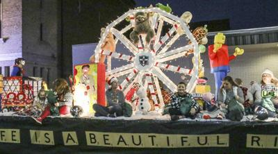 Families flock to Christmas parade in Meridian