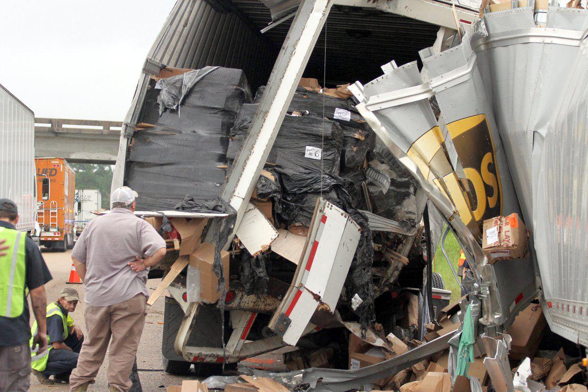 UPS driver killed, 2 injured in I-20 truck accident in Newton County
