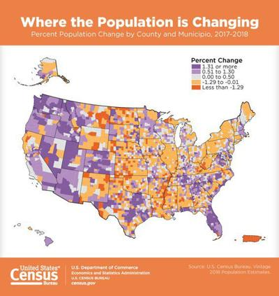 New census estimates show exit from East Mississippi | Local ...