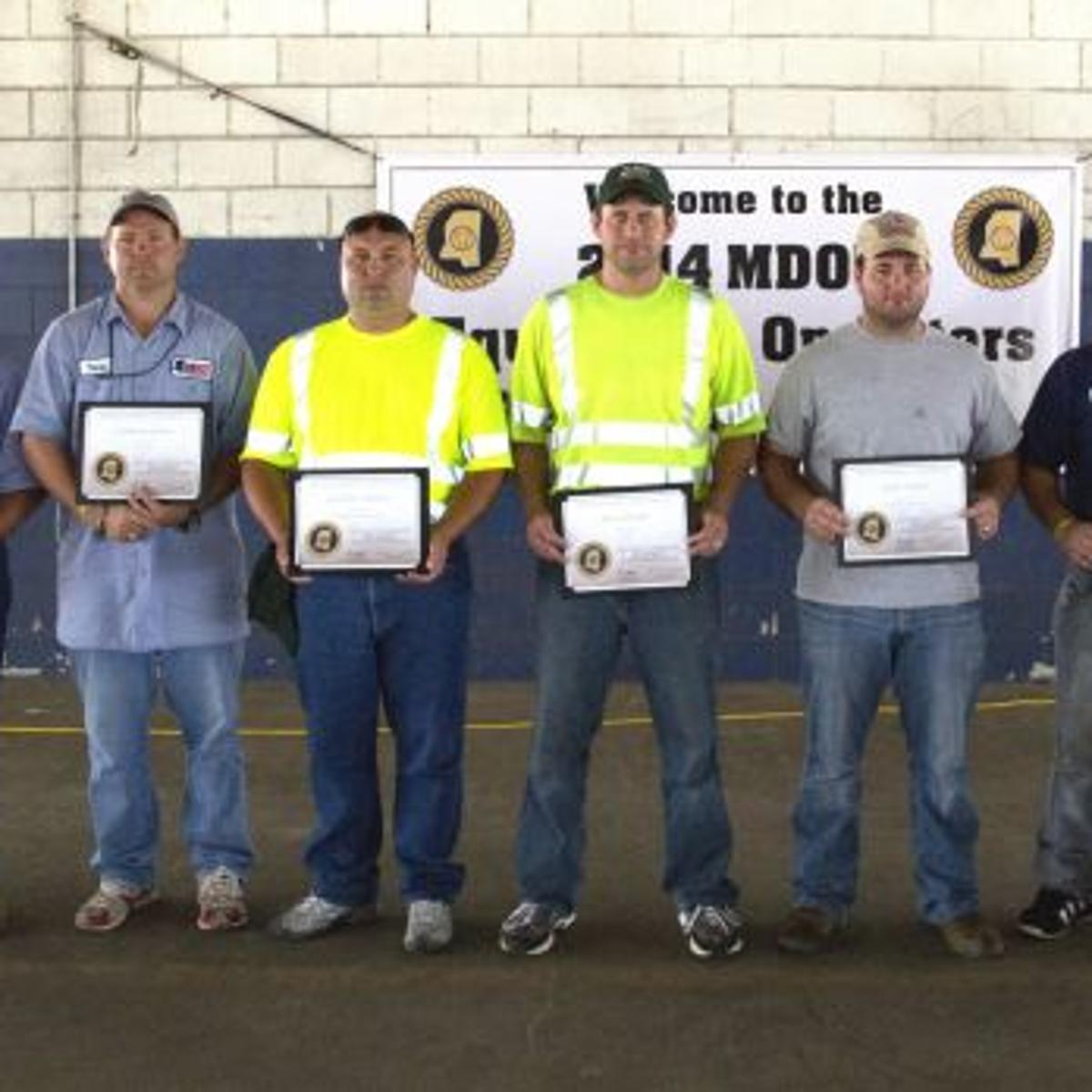 MDOT ROADEO WINNERS | Local News | meridianstar com