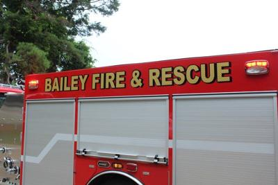 Three pets rescued after trailer fire in Bailey