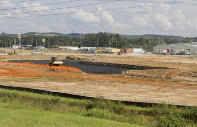 Stribling Equipment breaks ground at site near Meridian airport