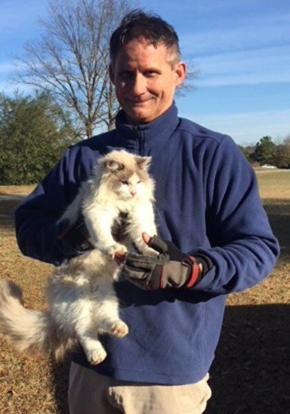 Meet Bob Reese, volunteer cat rescuer