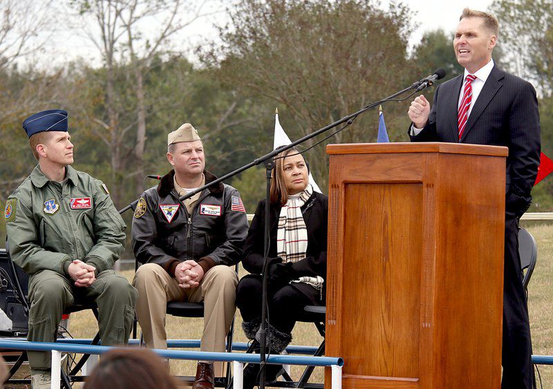 Veterans honored at site of future East Mississippi Veterans Memorial Park in Meridian
