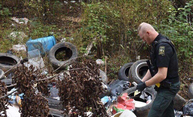 Lauderdale County's only solid waste enforcement officer fights illegal dumpsites