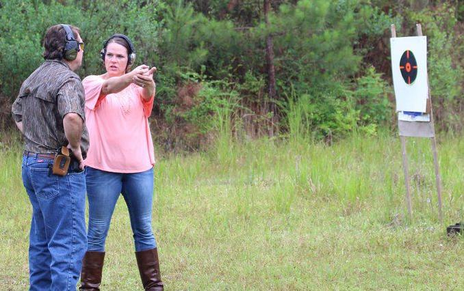 MIKE GILES: Instructor shares her passion for firearms