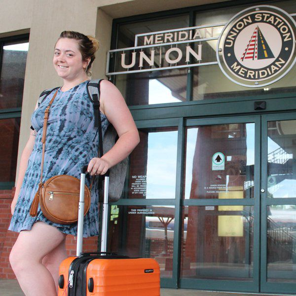 Train traveler treated to Southern hospitality during Meridian visit