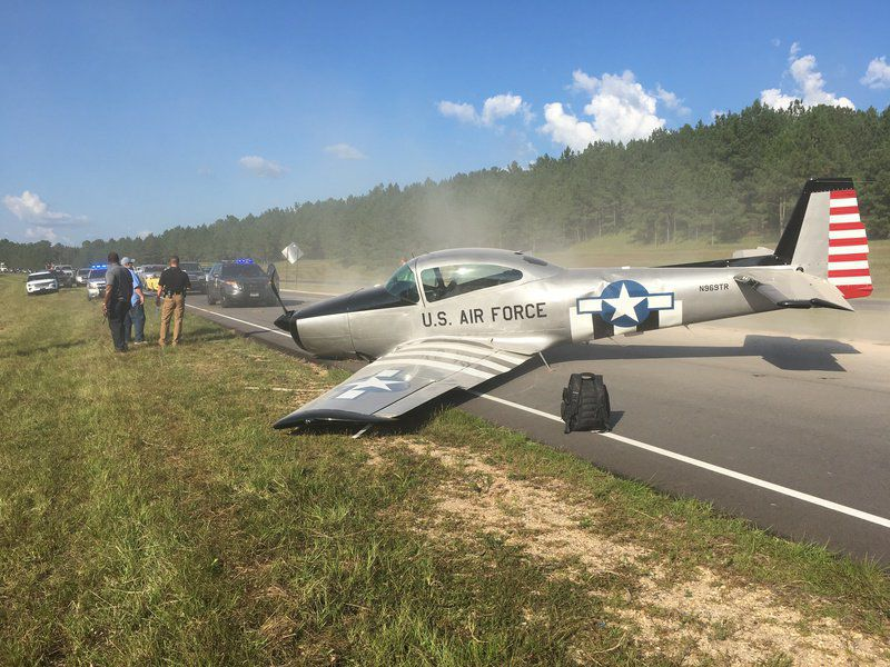Plane makes emergency landing on Highway 45 in Clarke County