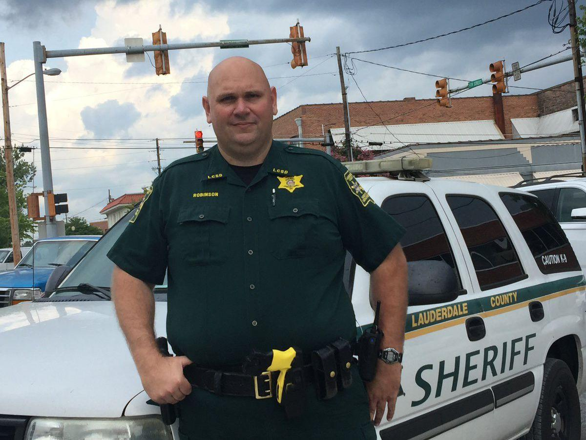 BEHIND THE BADGE: Tim Robinson, Deputy with the Lauderdale