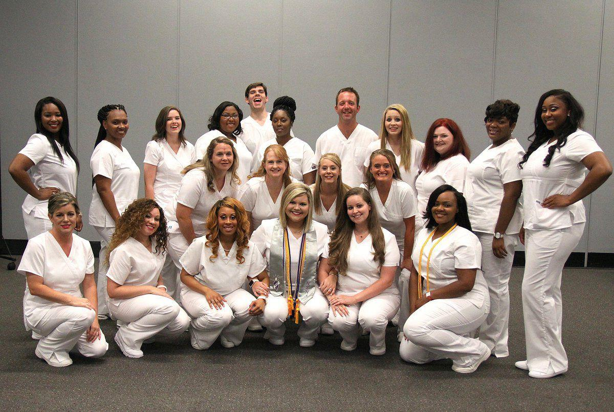 EMCC practical nursing graduates ready to serve others