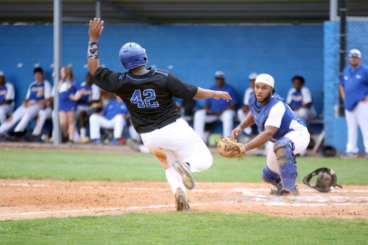 Meridian vs. Bay Springs baseball 1