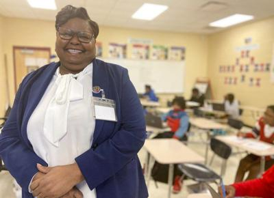 Amy Grady, Meridian Public School District's teacher of the year, charts a course for success