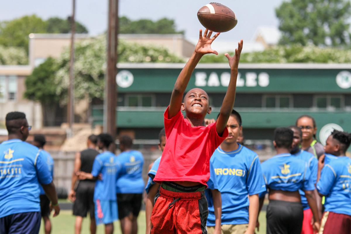 Area athletes learn skills, Biblical values at Pouncey camp