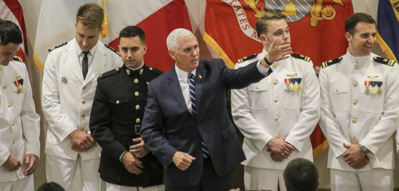 Vice President Mike Pence son among seven earning wings at NAS Meridian