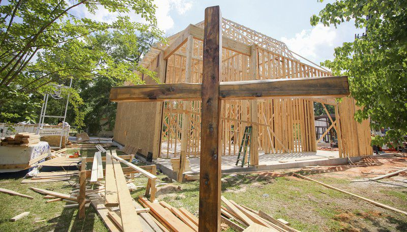 Two years after tragic fire, Enterprise United Methodist Church starts to rebuild