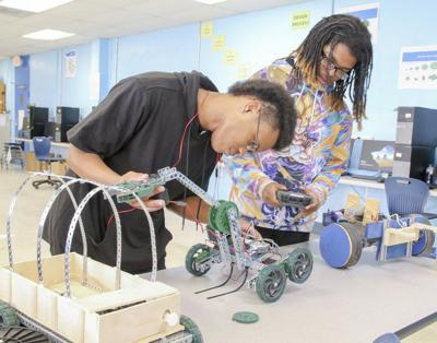 Ross Collins students gain real world experience while still in school