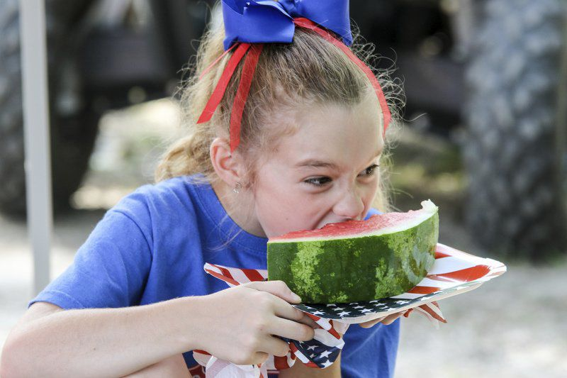 Friends and family celebrate Independence Day in Meridian