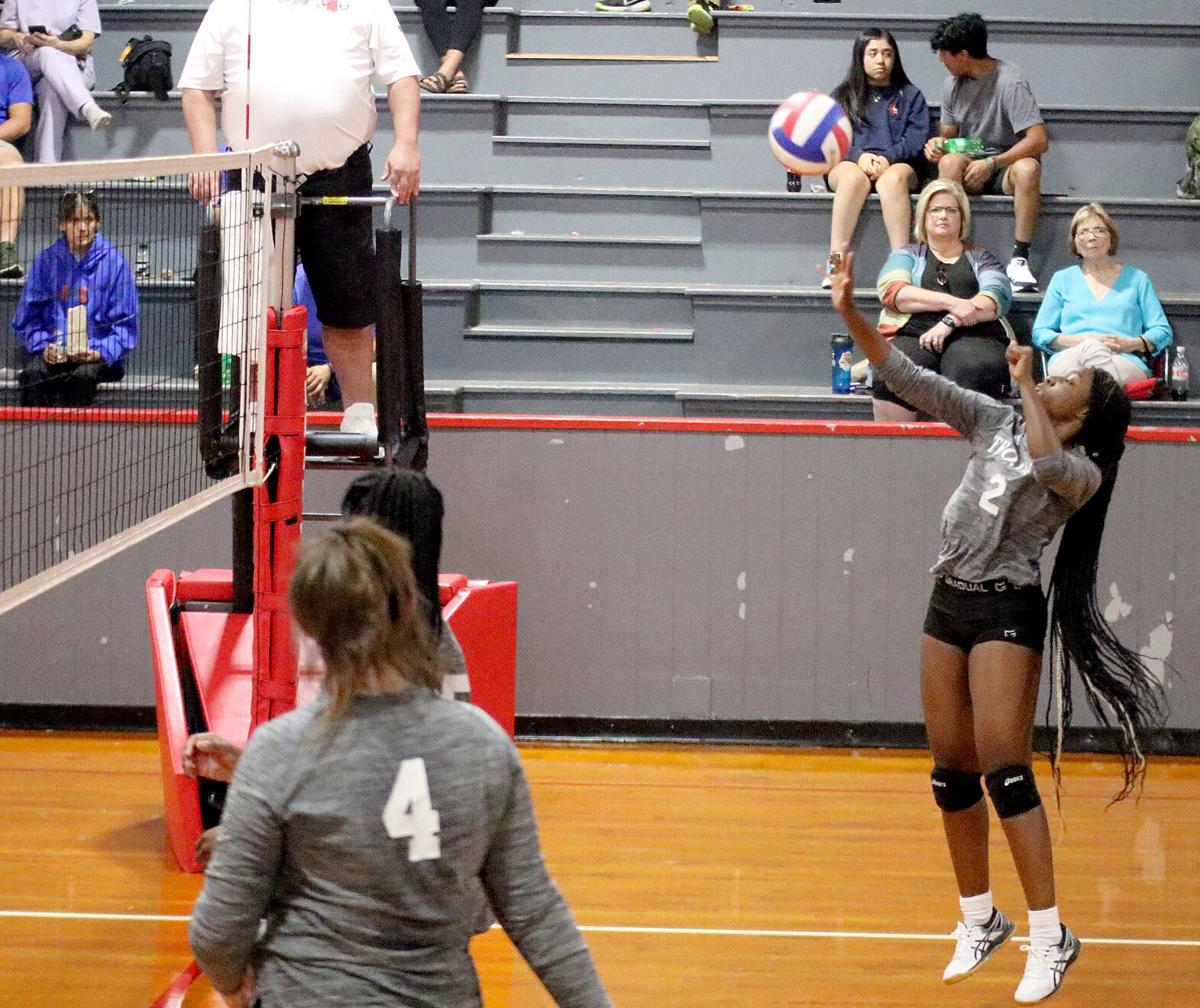 Northeast volleyball Ayona Jones