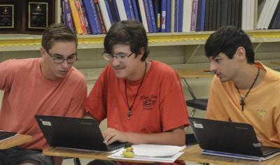 TECH EDUCATION: Pilot program encourages computer coders in Enterprise