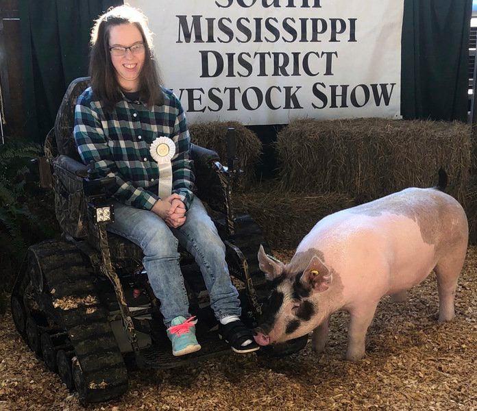 Cerebral palsy doesn't stop Clarkdale's Kalee Guin