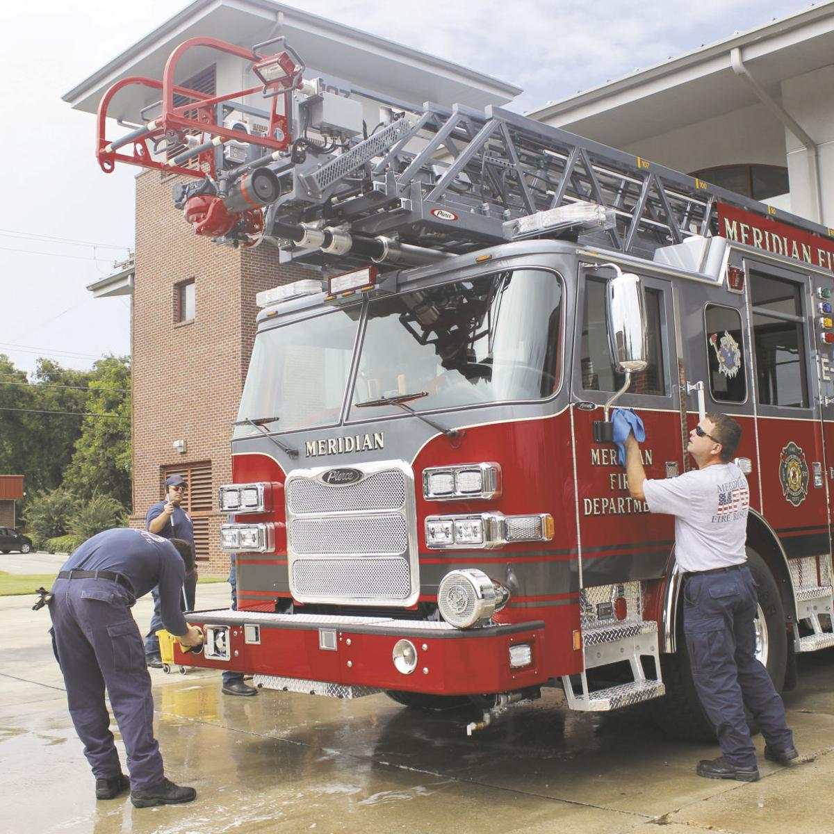 New dual-purpose fire apparatus arrives in Meridian | Local News
