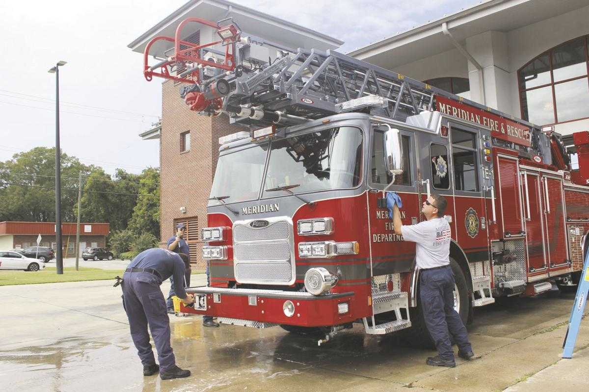 Meridian purchases new fire truck