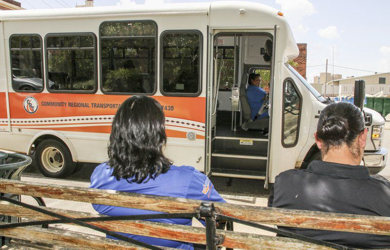 Bus service helps Meridianites without transportation