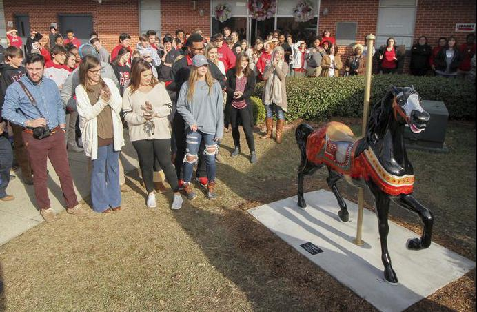 Carousel Horse A Symbol Of School Spirit At West Lauderdale Local