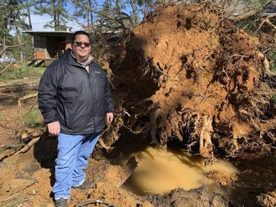 Cleanup starts after tornado hits Camp Binachi near Meridian