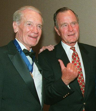 Former President George H.W. Bush remembered in Meridian for friendship with Congressman G. V. 'Sonny' Montgomery