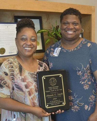 MCC's Smith named South Mississippi Education Support Staff Person of the Year