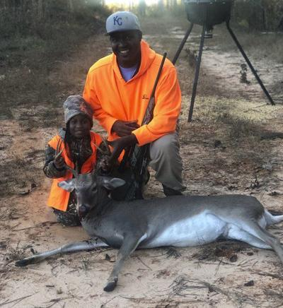 MIKE GILES: 8-year-old Kendall Kennedy shoots first buck
