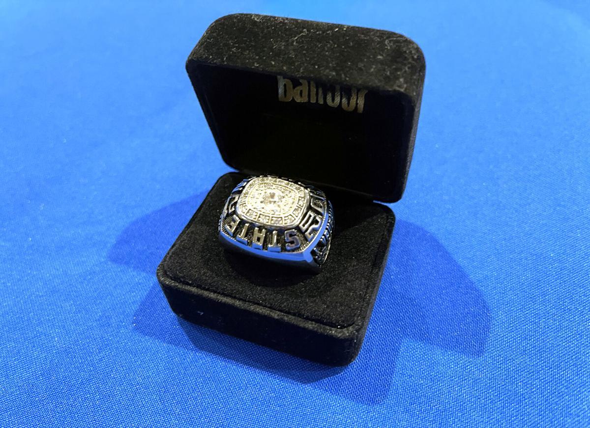 Vaughn championship ring