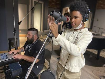 Young artists find inspiration during recording camp at The Max in Meridian