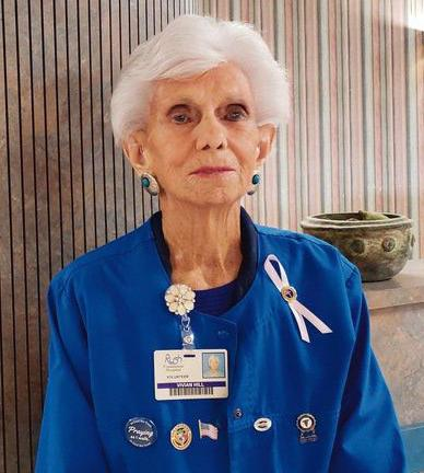 OUR VOLUNTEERS: At 92, Vivian Hill is still giving back at Rush