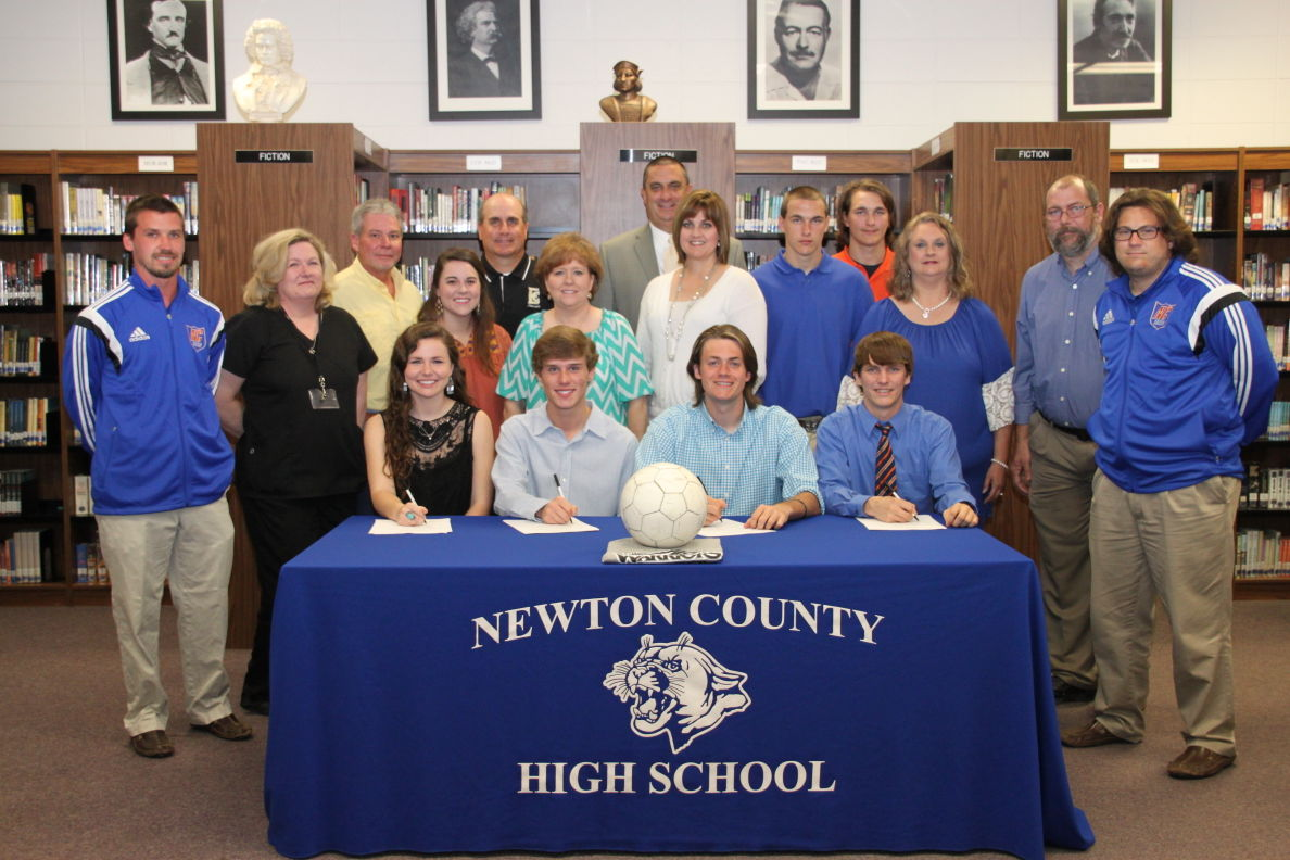 Mississippi newton county newton - Newton County Soccer Players Sign