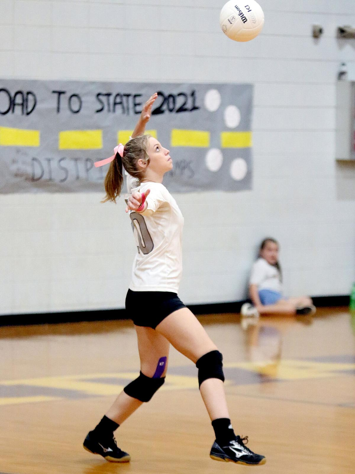 Clarkdale volleyball Taylor Read