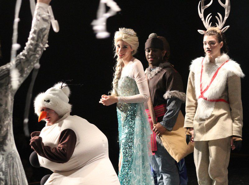 Lauderdale County actors take the stage for 'Frozen Jr.' at MCC
