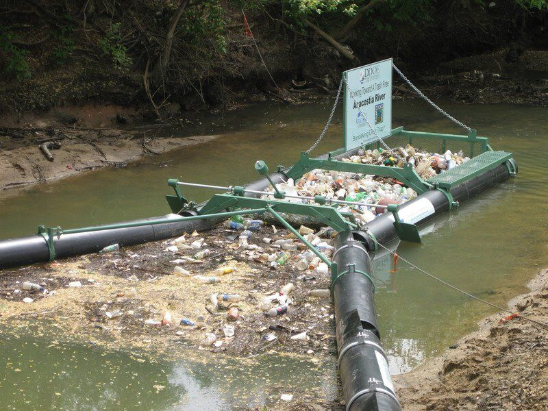 Floating trap to help Mississippi Band of Choctaw Indians fight water pollution