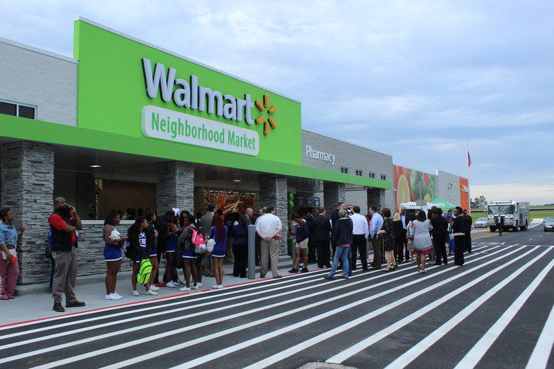 meridian neighbors celebrate walmart grand opening local news
